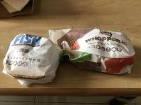 漢堡王(バーガーキング)2個109元セット200427
