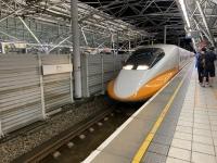 帰りも台湾新幹線200516