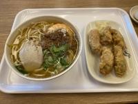 担仔麺と蝦巻200613
