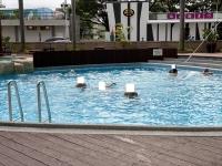 国賓のプール200723