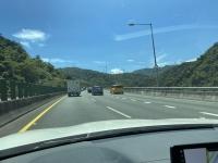 北宜高速は少々渋滞200812