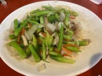 アスパラみたいな野菜炒め200813