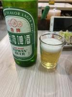 台湾金牌ビール200820