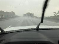 第2高速でいきなりの豪雨200913