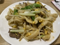 沙茶牛肉炒刀削麵201009