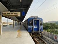 區間車で台南へ201103