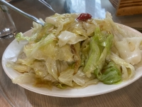 櫻花蝦高麗菜201231