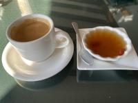食後のコーヒーとデザート210114