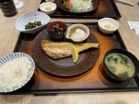 炭烤𩸽魚定食210120