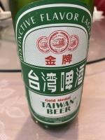 台湾金牌ビール210215