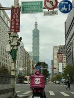 台北101方面へ210223