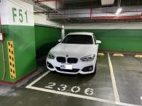 MRT淡水地下駐車場210316