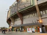 外観は台中洲際棒球場に似てる210320
