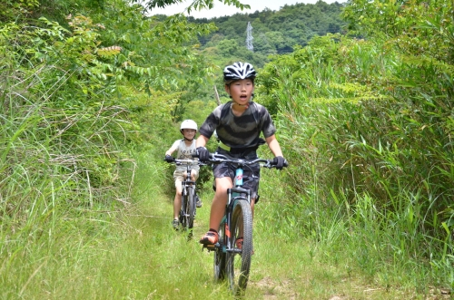 【MTBの学校】勢和の森の楽しさはいろいろあります!