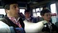 ローズフェステバル参加者バスの中での演奏