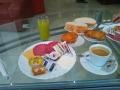 20130601ホテルチープの朝食