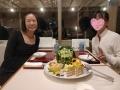 結婚6周年記念の晩餐