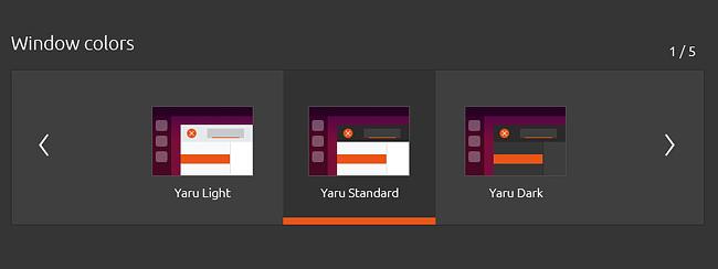 Ubuntu 20.04 外観 テーマ