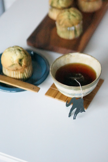 ね紅茶&抹茶マフィン