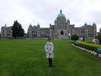 州議会議事堂前