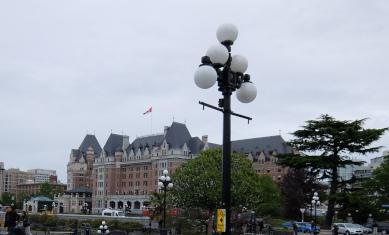 フェアモントホテルの外観
