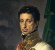 兄で最後のローマ皇帝フランツ2世とともにナポレオン戦争の指揮官をした人物で、ローマ皇帝レオポルト2世と妻マリア・ルドヴィカの子カール・フォン・エスターライヒ・テシェン2