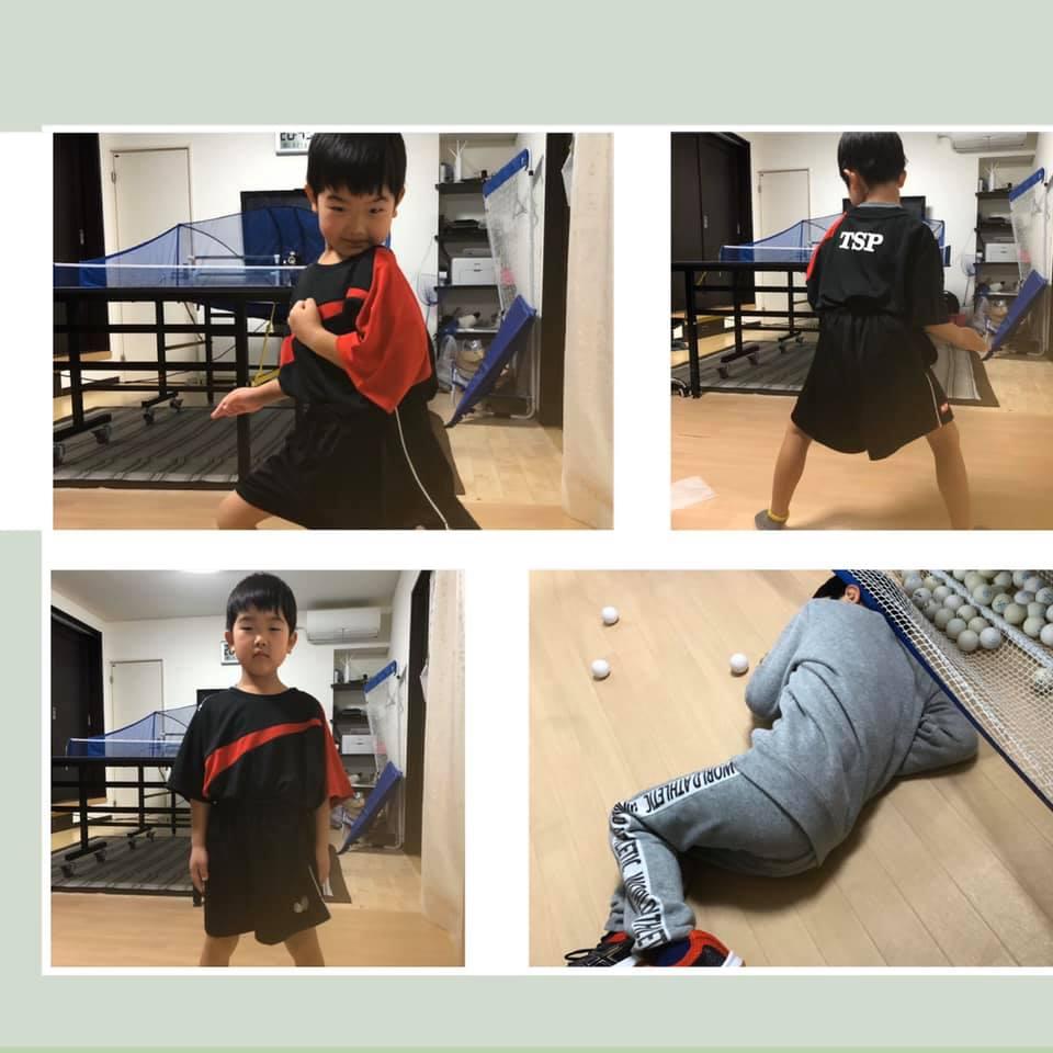 20200324_貫太卓球練習_6歳(保育園児)