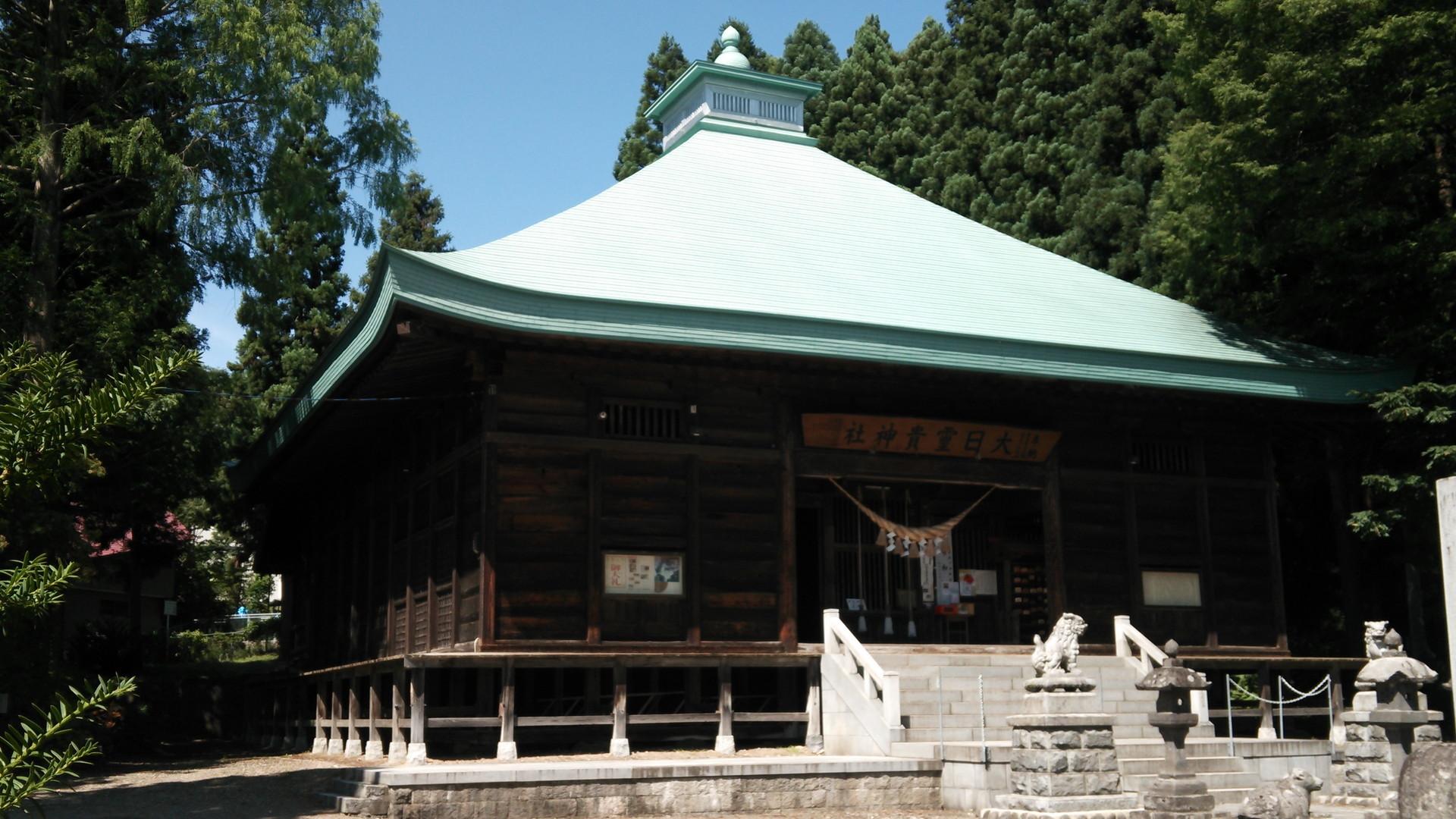 大日霊貴神社 十和田神社 / Oohirumemuchi & Towada shrine free images(フリー素材) サムネイル画像