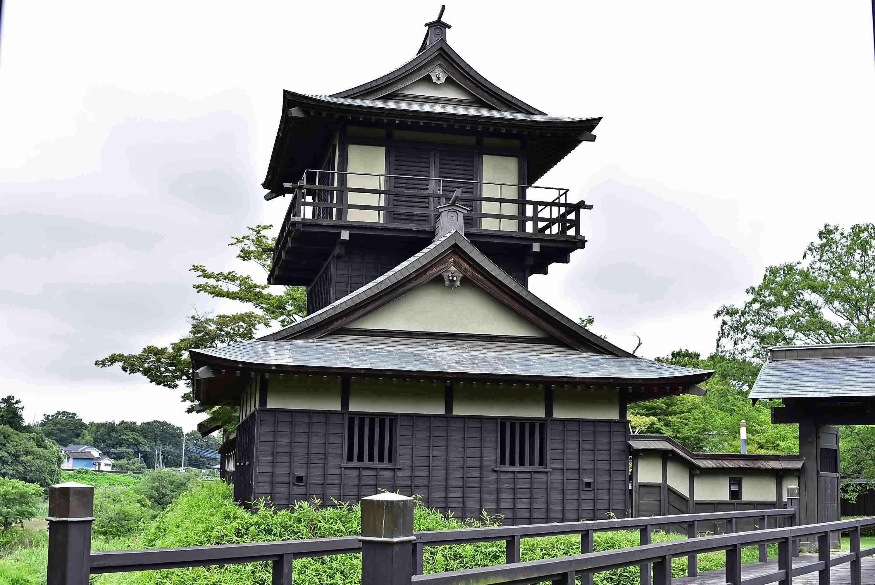 逆井城 二層櫓