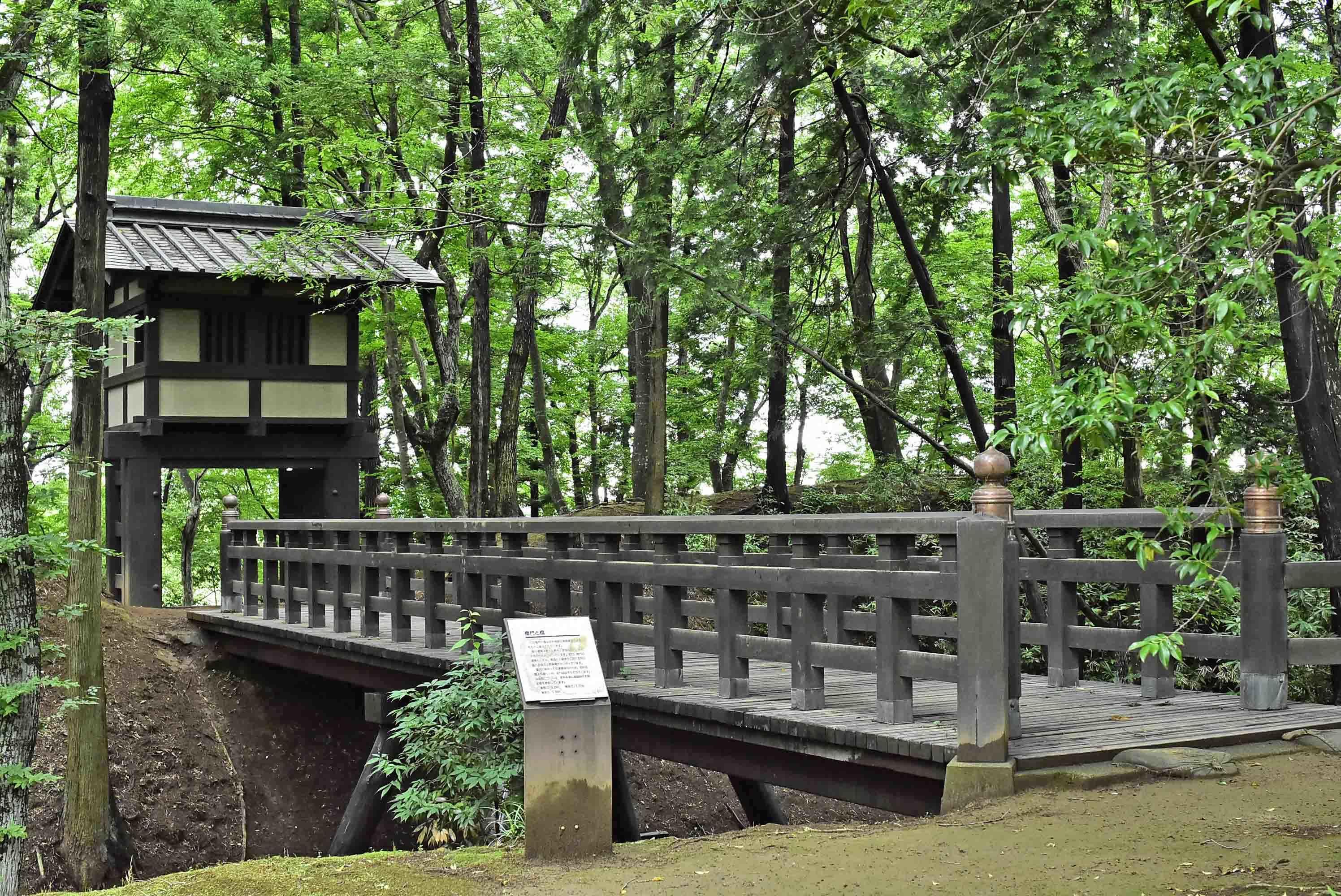 本丸への櫓門