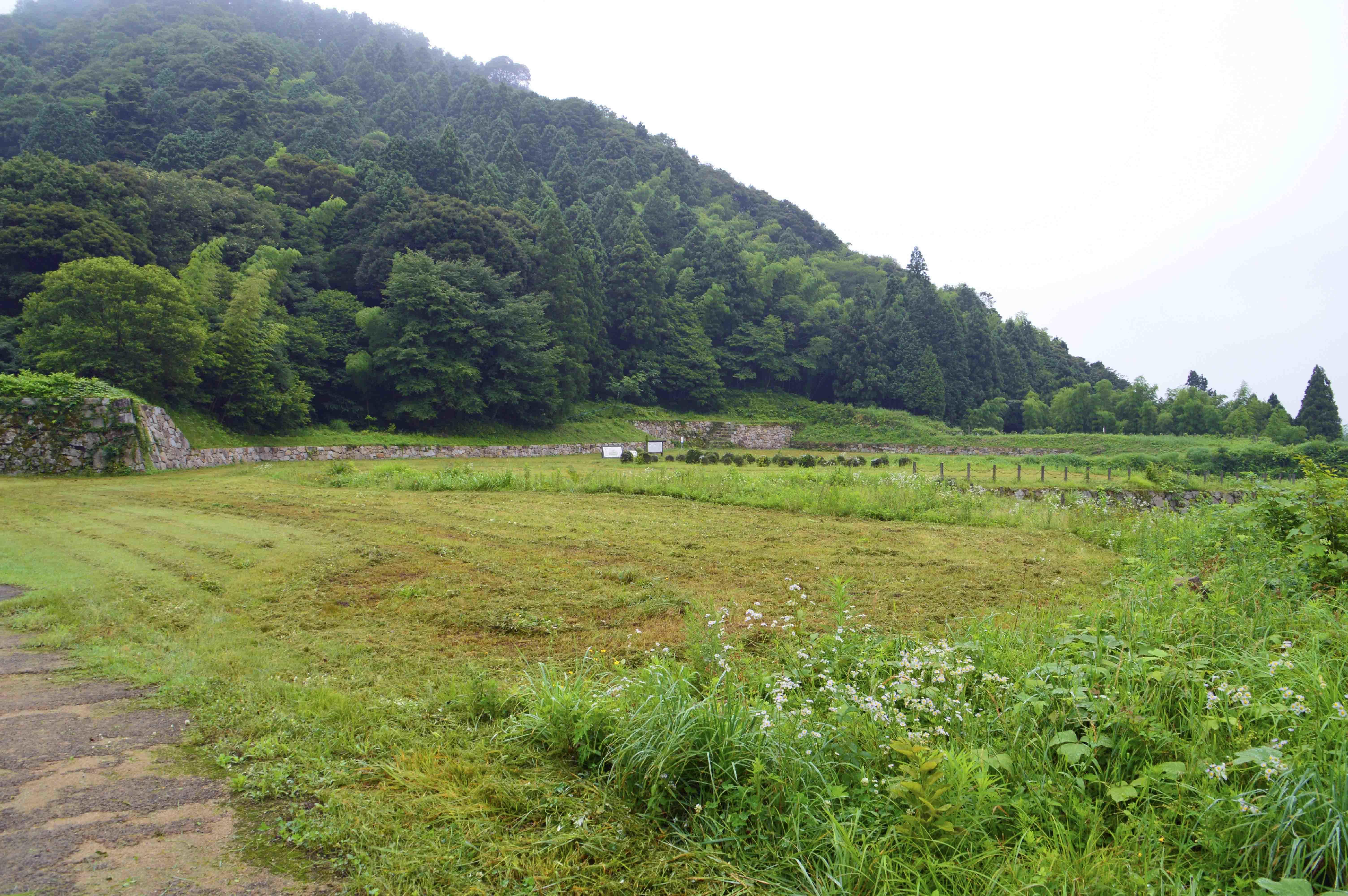 月山富田城 中山