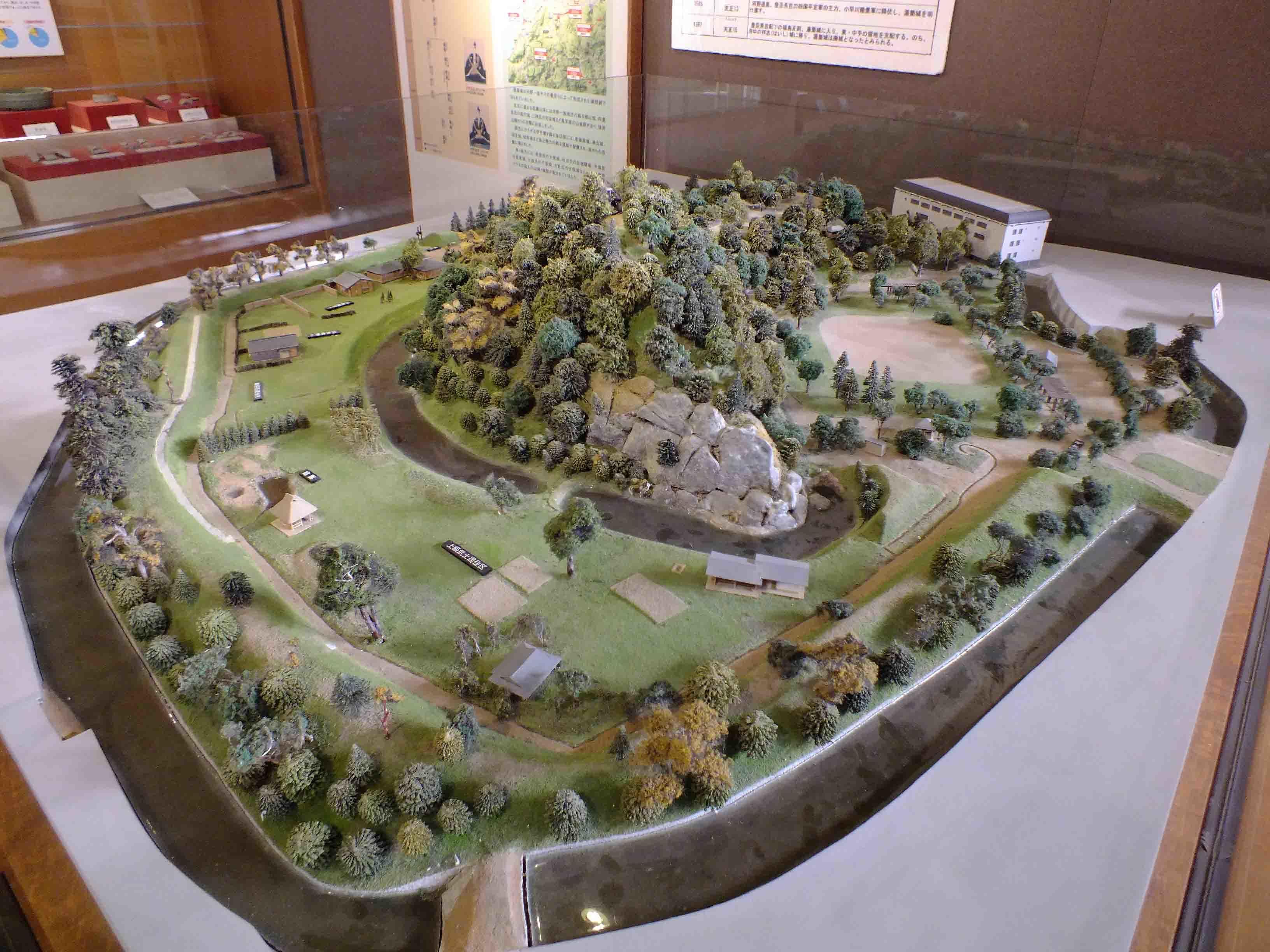 湯築城 ジオラマ