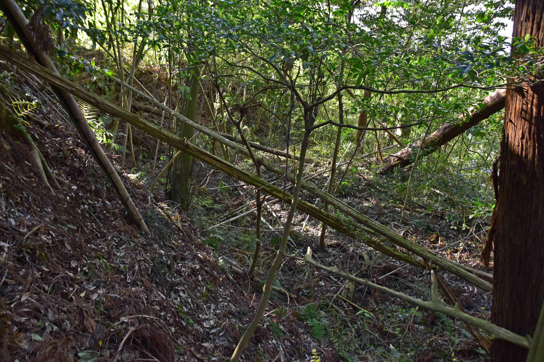 2本目堀の東端