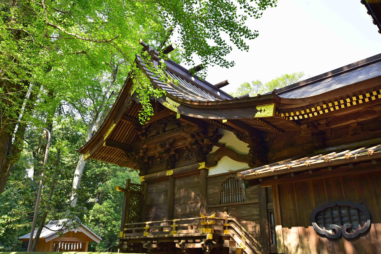 玉敷神社本殿