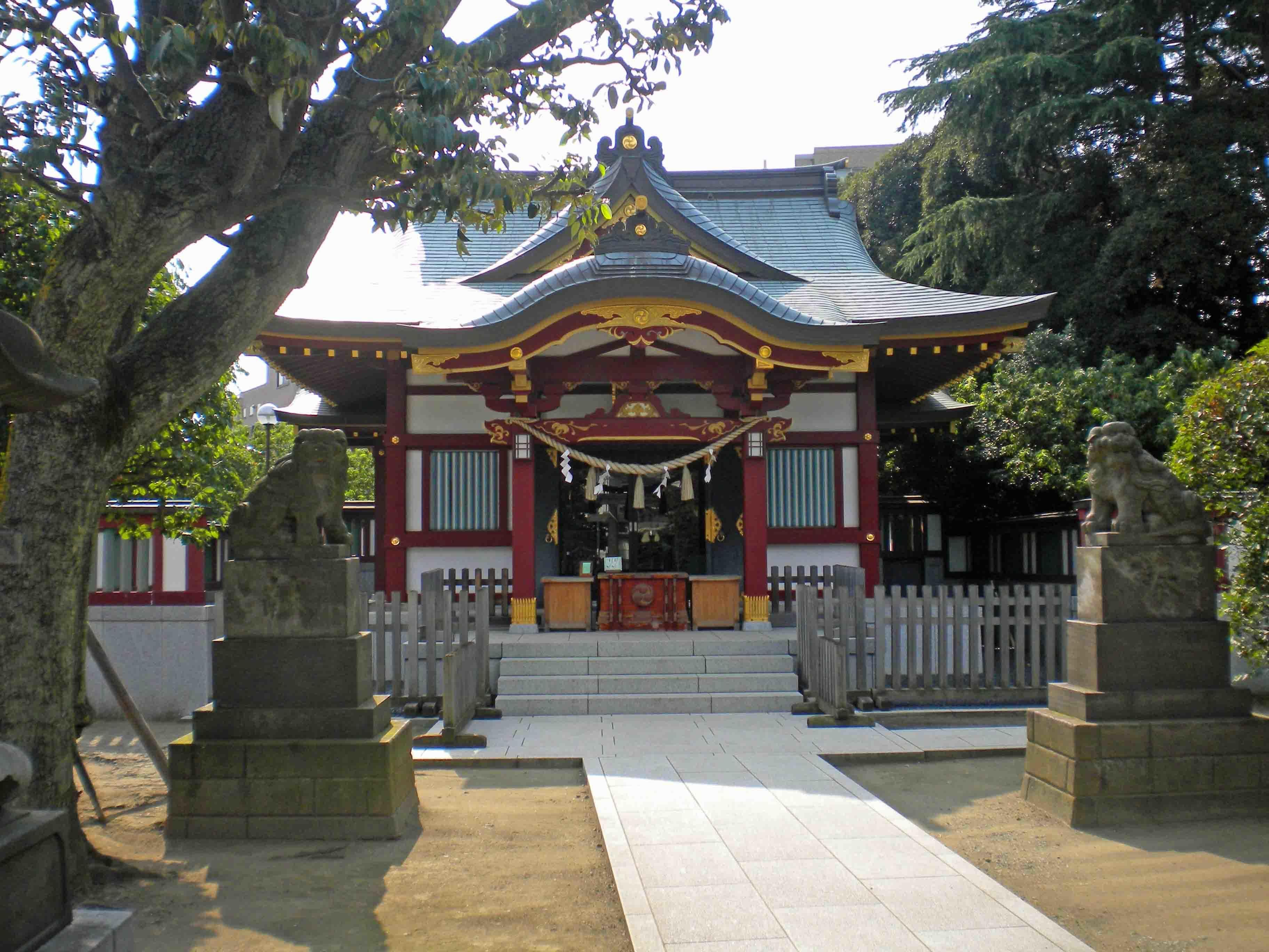 稗田神社 拝殿