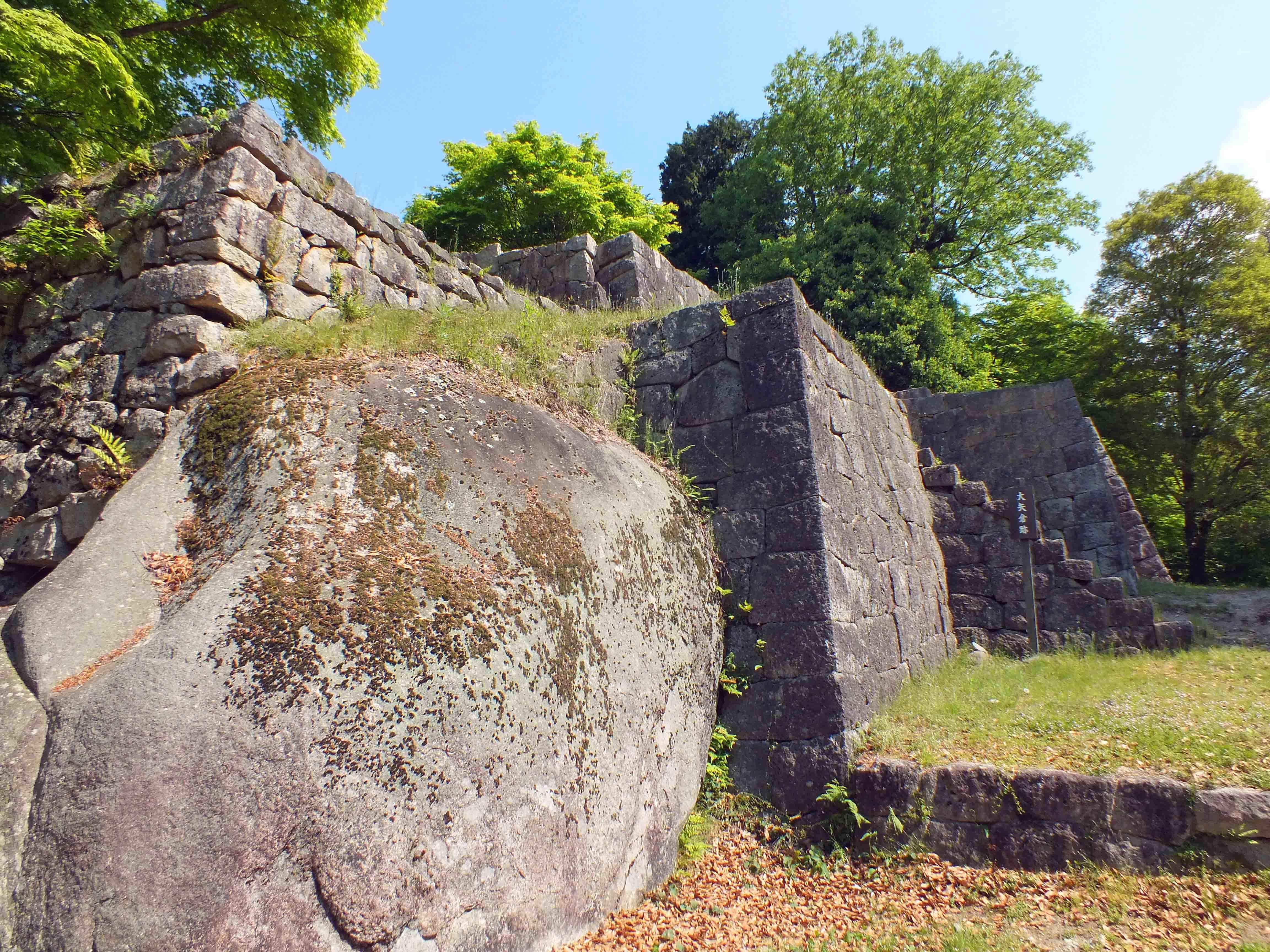 苗木城 石垣