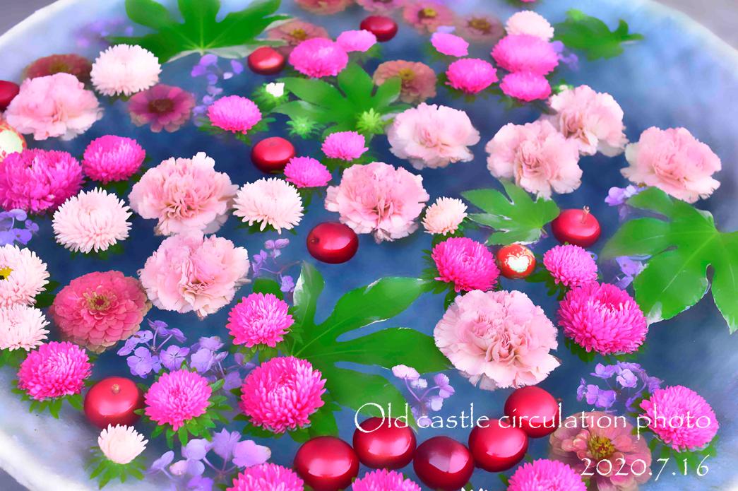 行田八幡 桃色