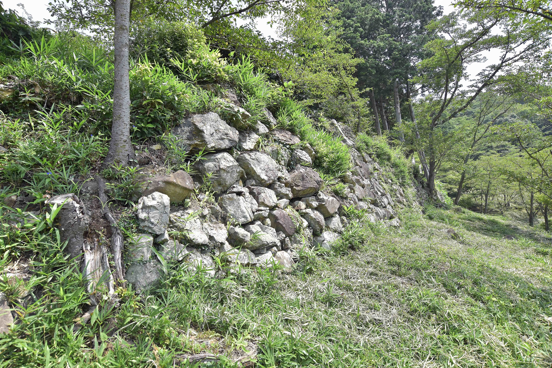 1出丸 石垣