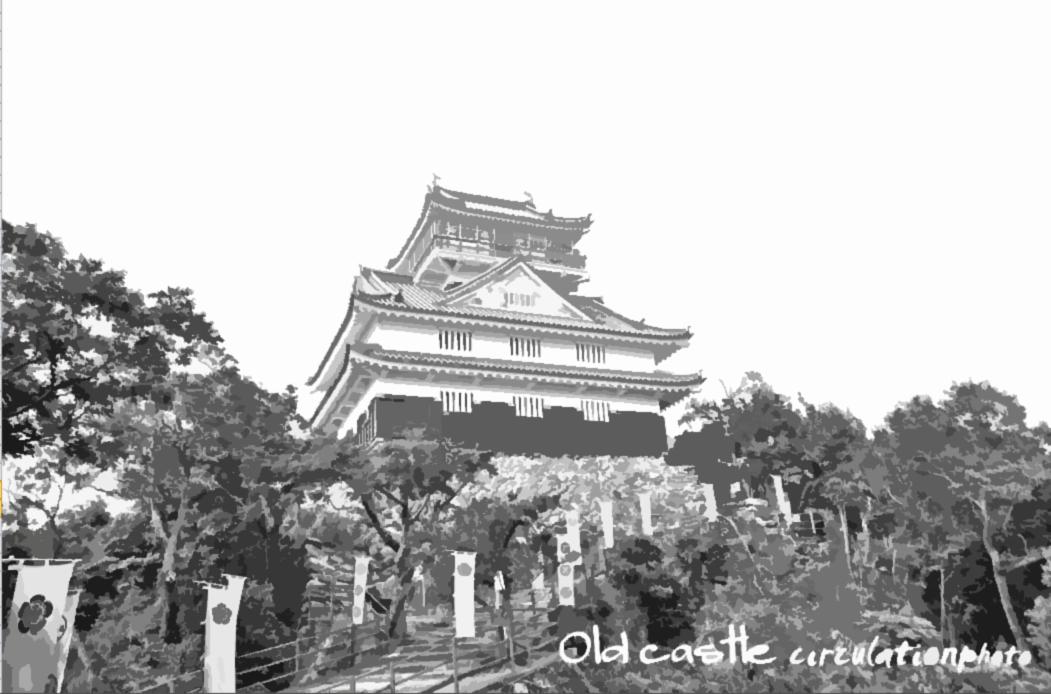 岐阜城 カット