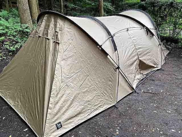 テント斜め