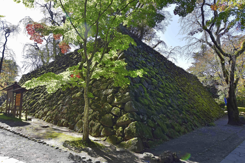 6本丸の石垣
