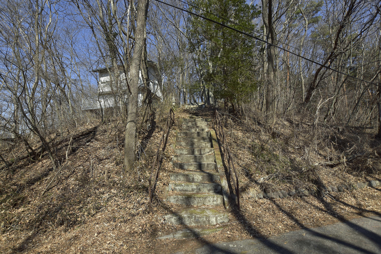1 城址への階段