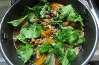 野菜と牛肉の蒸し物
