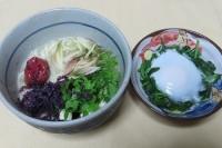 ある日の朝食味噌味ニュー麺