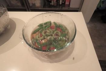 夏野菜煮浸しトマト、ゴーヤ、獅子唐