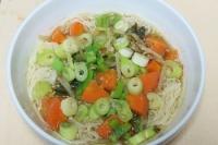 野菜たっぷり味噌にゅう麺