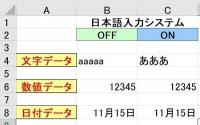 日本語入力しステム450