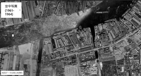 木津川沿い1961~1964年頃