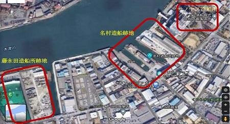 木津川沿い2021年