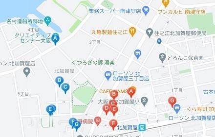 KCV拠点マップ